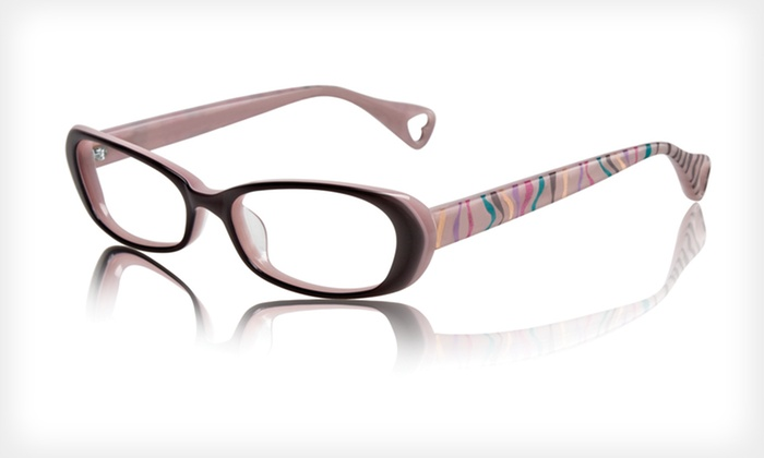Untamed Frames: $39 for Untamed Optical Frames by Betsey Johnson ($195 List Price). Three Colors Available.
