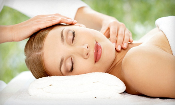 Huaxing Salon Inc - Core: 60-Minute Lymphatic-Drainage Massage with Optional 60-Minute Facial at Huaxing Salon Inc (Half Off)