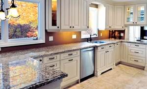 Granite Heroes: Seal, Polish, and Cleaning for Three, Six, or Nine Linear Feet of Stone Countertop from Granite Heroes (50% Off)