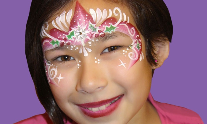 Face Painting by Valery - Chicago: $125 for Two Hours of On-Location Face Painting from Face Painting by Valery ($300 Value)