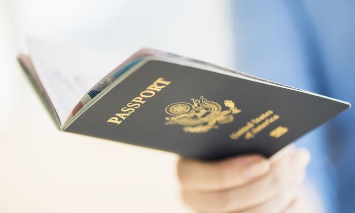 SC Passport and Visa - Arlington: $10 for Two Passport Photos at SC-Passport and Visa ($15Value)