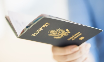 $11 for Two Passport Photos at SC-Passport and Visa ($15Value)
