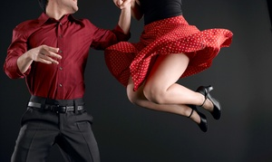 SwingOutDayton: Four or Eight Swing-Dance Classes for One or Four Swing-Dance Classes for Two at SwingOutDayton (Up to 53% Off)