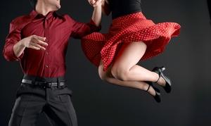 SwingOutDayton: Four or Eight Swing-Dance Classes for One or Four Swing-Dance Classes for Two at SwingOutDayton (Up to 53% Off)