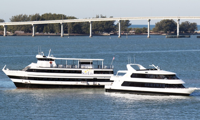 StarLite Dining Cruises - Multiple Locations: Evening or Afternoon Cruise from StarLite Dining Cruises (Up to 60% Off)