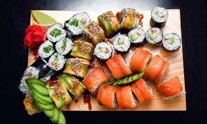Hokkaido: All you can eat sushi voor 2, 3 of 4 personen bij Hokkaido centrum Gent vanaf 39,99€.