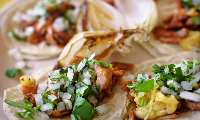 The Hot Box Diner - Brentwood: $21 or $20 Worth of Mexican Cuisine from Hot Box Diner