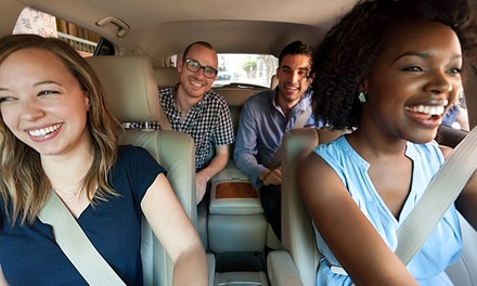 $5 for $25 Worth of On-Demand Ride Sharing from Sidecar