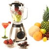 Stainless Steel Blender and Blade with 6-Cup Glass Jar