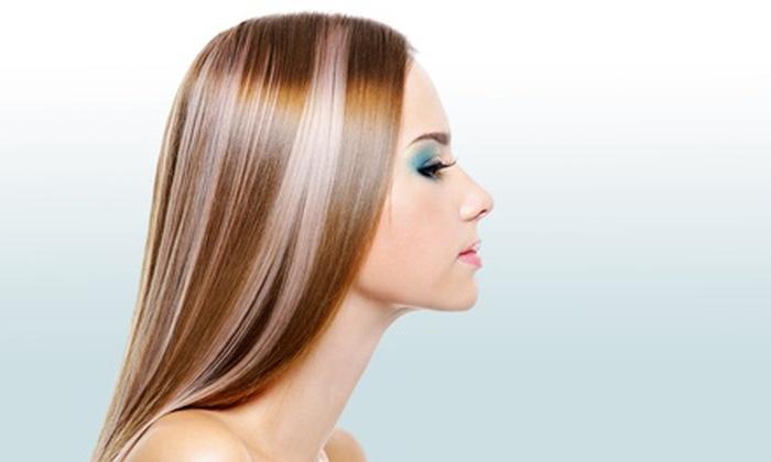 Milano Salon & Day Spa - Allston: Salon Services at Milano Salon & Day Spa (Up to 65% Off). Three Options Available.