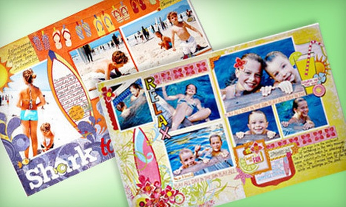 All Scrapbook Steals In Groupon