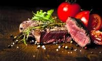 Menu con antipasto, primo fatto in casa, secondo, dolce e a scelta calice o bottiglia di vino (sconto fino a 75%)