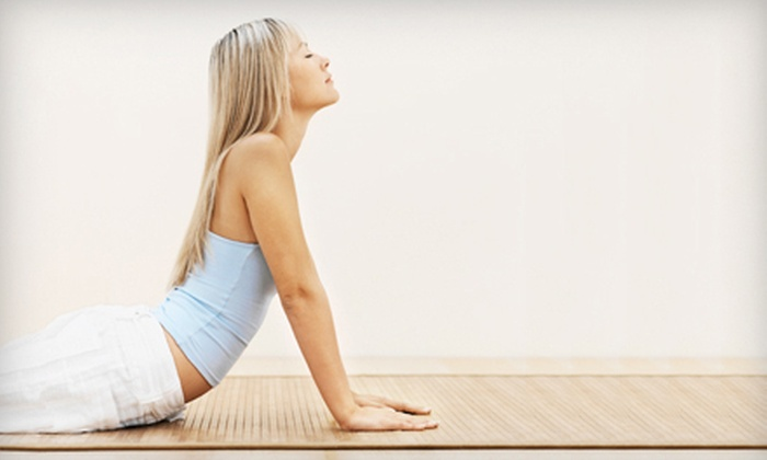 Yoga Eight - Madison: 5 or 10 Classes at Yoga Eight (Up to 70% Off)