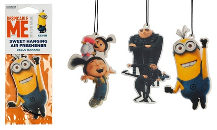 6, 12 or 24 Despicable Me Car Air Fresheners from £4.99