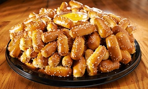 Philly Pretzel Factory - Chambersburg: $15 for Pretzel Rivet Party Tray with 200 Rivets and Three Dips from Philly Pretzel Factory ($25 Value)
