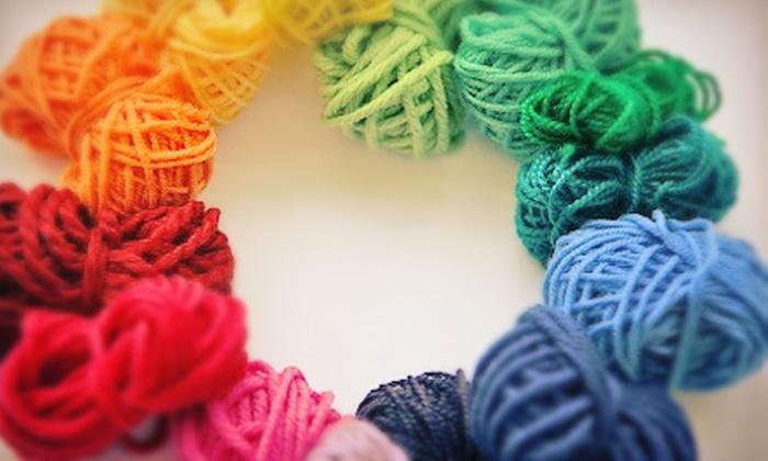 Stitch DC - Washington: Three-Week Knitting 101 or Knitting 201 Class, or Both at Stitch DC (Up to 57% Off)