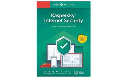 Kaspersky Internet Security 2020 para 1, 3, 5 o 10 dispositivos durante 1 o 2 años para descargar (Envío gratuito)