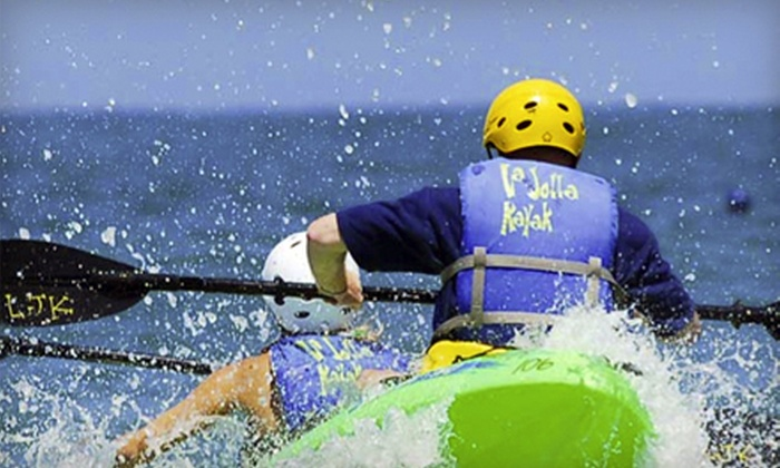 La Jolla Kayak - Northern San Diego: $39 for a Two-Hour Sea-Cave Kayaking Tour for Two from La Jolla Kayak (Up to $85 Value)