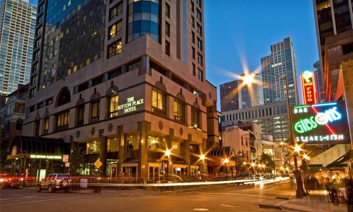 The Sutton Place Chicago Hotel - Gold Coast: $229 for a One-Night Stay at The Sutton Place Hotel in Chicago, IL