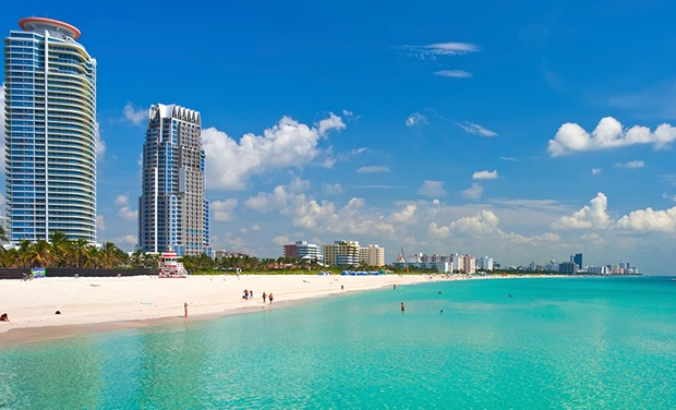 4.5-Star Top-Secret South Beach Hotel - Miami Beach: Stay with Dining Credit at 4.5-Star Top-Secret South Beach Hotel, with Dates into November