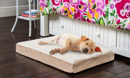 Clean and Green CertiPUR-US Orthopedic Pet Beds
