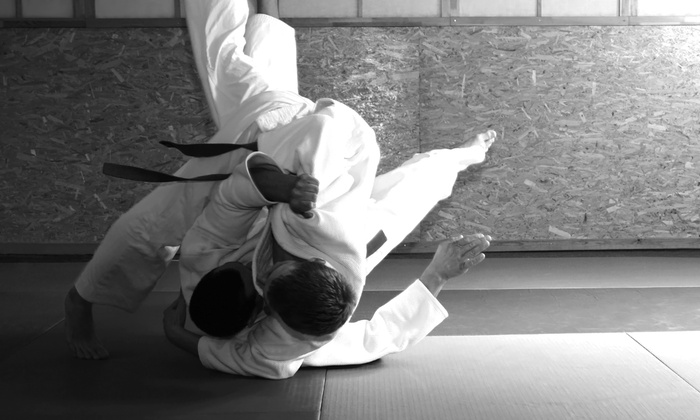 RMBJJ Brazilian Jiu-Jitsu - City Center: One Month of Martial-Arts Classes for One or Two People at RMBJJ Brazilian Jiu-Jitsu (81% Off)