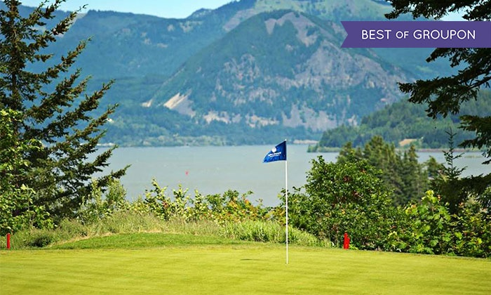 Skamania Lodge - Stevenson, Washington: 18-Hole Round of Golf for Two or Four Including Shared Cart at Skamania Lodge (Up to 53% Off)