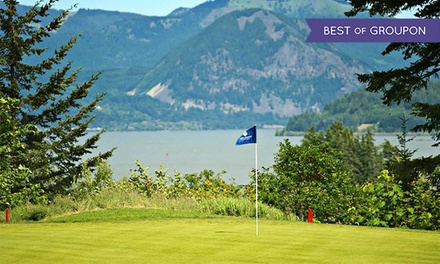 18-Hole Round of Golf for Two or Four Including Shared Cart at Skamania Lodge (Up to 53% Off)