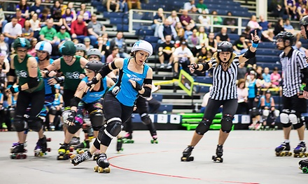 $15 for Two Tickets to Marietta Derby Darlins Roller-Derby Event on Saturday, August 23 ($28.26 Value)