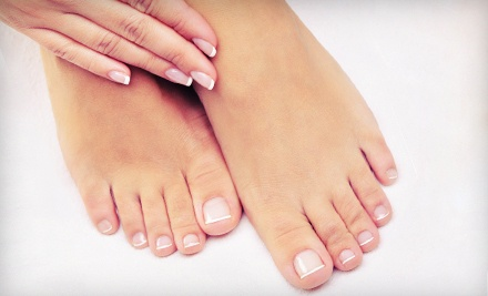 1 Manicure and Classic Pedicure (a $43 value) - Robert Anthony Salon and Day Spa in Wormleysburg