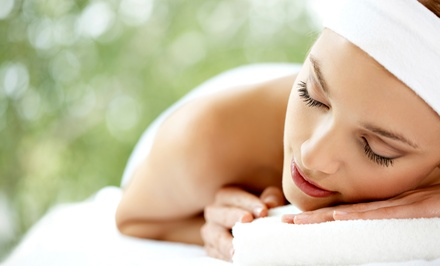 60-Minute Swedish massage or Ultrasonic Facial with Aromatherapy at Day Spa by Vanessa (Up to 62% Off)