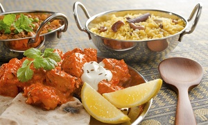 Délices de l'Inde: BYOB Indian Dinner for Two or Four at Délices de l'Inde Restaurant (Up to 64% Off), 2 Locations