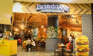 Bennigan's: Three-Course Meal with Soft Drink for Up to Four at Bennigan's (Up to 56% Off)