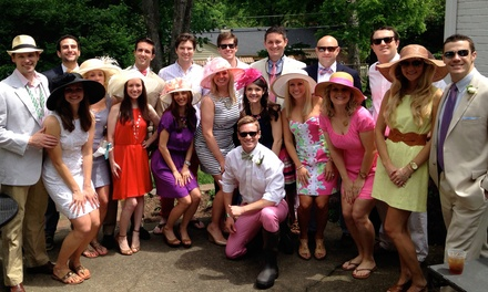 Two or Four Groupons, Each Good for One Ticket to Talk Derby To Me at Rooftop 210 (50% Off)