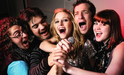 One-Hour Karaoke Session with Bubbly for 10 or 15 at Mix Karaoke Bar (87% Off)