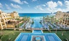 4-Night All-Inclusive Riu Santa Fe Stay with Air from Vacation Express - Cabo San Lucas, Mexico:  ✈ 4-Night All-Inclusive Riu Santa Fe Stay with Air from Vacation Express. Price per Person Based on Double Occupancy.