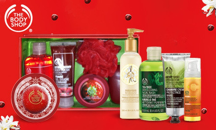 The Body Shop - Santa Rosa Plaza: $10 for $20 Worth of Skincare, Bath, and Beauty Products at The Body Shop
