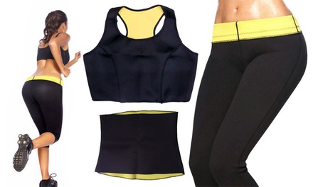 Slimming Pants SaunaFit Plus for AED 69 or Neoprene SaunaFit Plus Pants, Belt and Vest Set for AED 109 (Up to 56% Off)