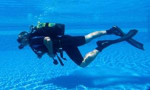 Bautismo de buceo para una o dos personas desde 14,95 € en Las Rozas