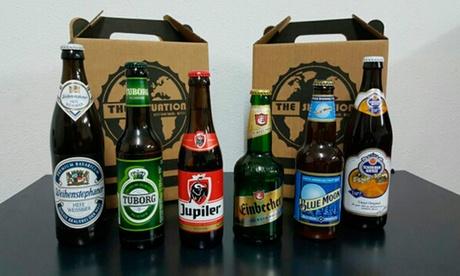 The Situation: pack de 6 cervezas de importación y 1 jarra de cerveza desde 14,90 € en el puerto