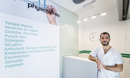 3 o 5 sesiones de fisioterapia de 45 minutos para 1 persona desde 39,99 € en Adara Fisioterapia