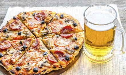 Pizza and Beer or Dinner for Two or Four or More at Smokies Restaurant & Bar (Up to 43% Off)