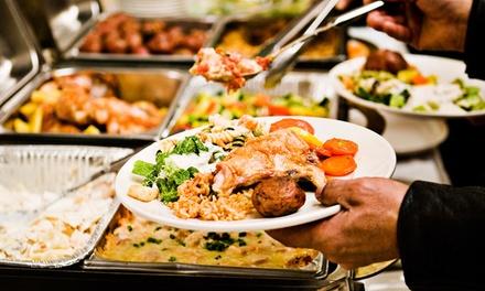 Buffet à volonté avec vue sur mer pour 1, 2, 3 ou 4 personnes dès 12 € au restaurant Ô buffet
