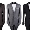 Men's 2-Piece Tuxedos with Free Bow Tie