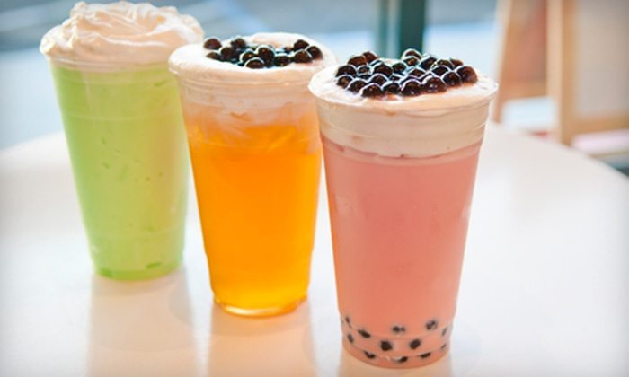 TMix - Alameda: Three or Five $10 Vouchers for Bubble Tea and Smoothies at TMix (Half Off)