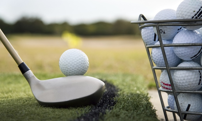 JK's World Of Golf - Auckland Airport: Driving Range Balls - $5.50 for a Half-Bucket of Balls or $37 for Four Buckets at JK's World Of Golf (Up to $52 Value)
