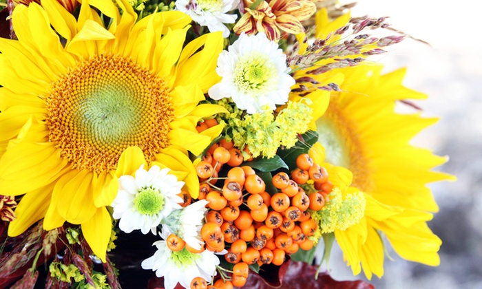 Beltway Blossom Shop - Greenbelt: Floral Arrangements from Beltway Blossom Shop (50% Off). Two Options Available.