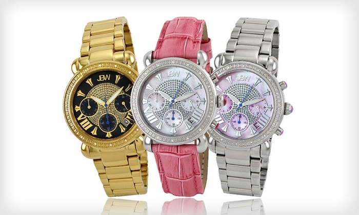 Men's and Women's JBW Diamond Watches: Men's and Women's JBW Watches (Up to 94% Off). 22 Styles Available. Free Shipping and Free Returns.
