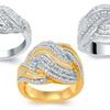 0.50–0.10 CTTW Diamond Rings by Brilliant Diamond