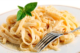 Caffe Latino: Pasta Dish For Two or Four at Caffe Latino ( Up to 45% Off)